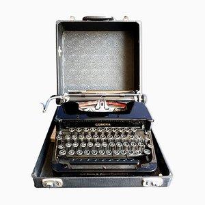 Tragbare Silent Schreibmaschine von Corona, 1930er