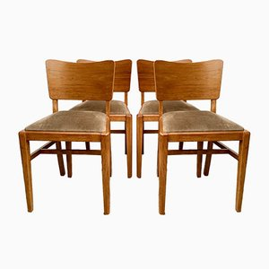 Vintage D170 Dining Chairs from Beautility, 1960s, Set of 4