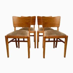 Vintage D170 Esszimmerstühle von Beautility, 1960er, 4er Set