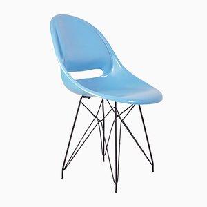 Mid-Century Stuhl aus Glasfaser von Miroslav Navratil für Vertex, 1960er