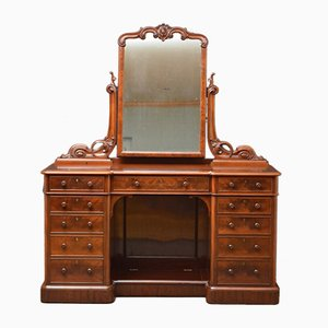 Victorian Mahogany Dressing Table from Blain & Son