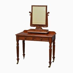 Viktorianischer Mahagoni Schreibtisch