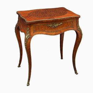 Coiffeuse Style Louis XV en Palissandre et en Bois de Violette