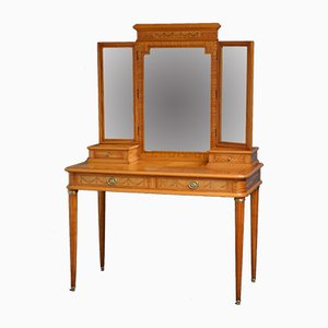 Antique Satinwood Dressing Table