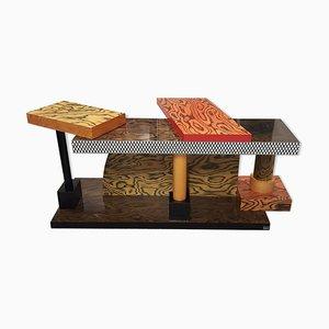 Table Console Modèle Tartarus par Ettore Sottsass pour Memphis, 1980s