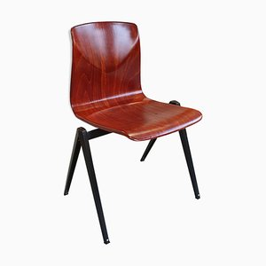 Industrial Model S-22 Pagwood School Chair, 1960s