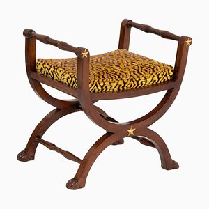 Empire Style Curule Seat, 1950s