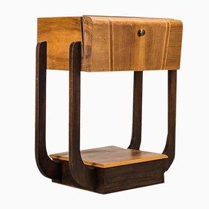 Mueble para gramófono estilo Art Déco, años 50