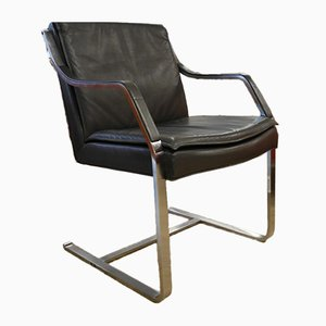 Art Collection Leather Chair by Rudolf Glatzel for Walter Knoll / Wilhelm Knoll, 1980s