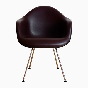 Upholstered Plastic DAX Armchair by Charles & Ray Eames for Herman Miller, 1950s
