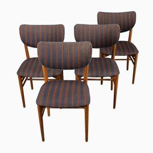 Chaises de Salon Vintage par Niels Koppel pour Slagelse Møbelværk, 1950s, Set de 4