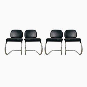 Chaises de Bureau Vintage, 1970s, Set de 4