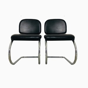 Vintage Office Chairs, 1970s, Set of 4
