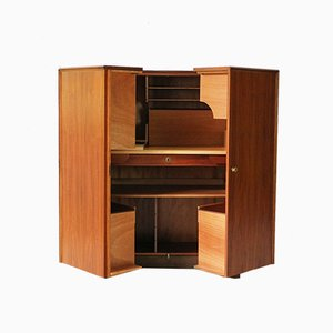 Scrittoio Magic Box in teak di Mummenthalter & Meier, anni '60