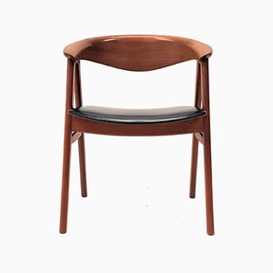 Model 52 Compass Teak Armchair by Erik Kirkegaard for Høng Stolefabrik, 1960s
