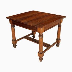 Tavolo antico neoclassico in legno di noce massiccio, Austria