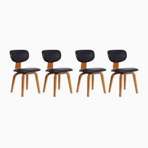 Chaises de Salon SB02 par Cees Braakman pour Pastoe, 1960s, Set de 4