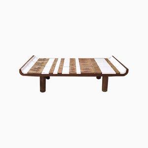 Table Basse Modèle Pagode Mid-Century par Roger Capron, 1960s