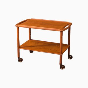 Teak Serving Bar Cart, 1960s