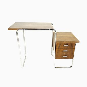Bauhaus B91 Desk by Marcel Breuer for Thonet, 1930s