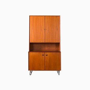 Mid-Century Teak Veneer Cabinet from Brouer, 1960s