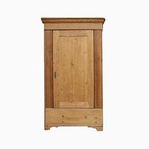 Mobiletto antico in legno di conifera, inizio XIX secolo