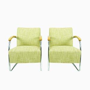 Chaises Cantilever Bauhaus par Mart Stam & Marcel Breuer pour Mücke Melder, 1930s, Set de 2