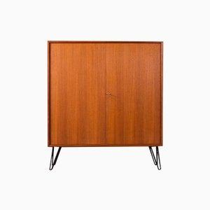 Vintage Teak Veneer Cabinet, 1950s