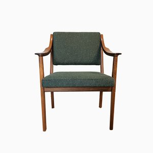 Mid-Century Rosewood Armchair, 1950s