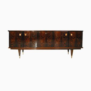 Mid-Century French Rosewood Lacquered Sideboard by Roger Hilaire for Malora, 1960s