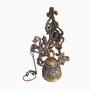 Mid-Century French Brass Door Bell