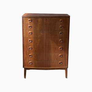 Mid-Century Teak Chest of Drawers by Kai Kristiansen, 1960s