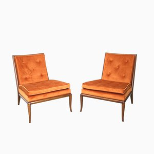 Armchairs by T. H. Robsjohn-Gibbings, 1950s, Set of 2