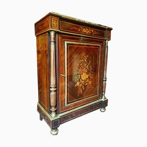 19th Century Louis XVI Style Rosewood & Marquetry Buffet