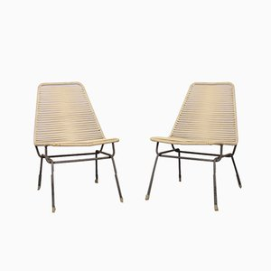 Czechoslovakian Lounge Chairs, 1960s, Set of 2