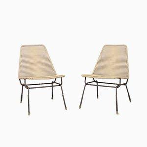 Czechoslovakian Lounge Chairs, 1960s, Set of 2