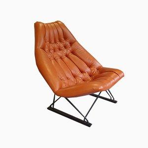 Prototipo de sillón modelo F592 de Geoffrey Harcourt para Artifort, años 60