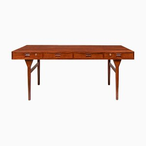 Mid-Century Danish Rosewood Desk by Nanna Ditzel for Søren Willadsen Møbelfabrik, 1960s