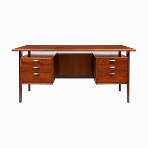 Mid Century Schreibtisch aus Palisander von Kai Kristiansen für FM Møbler, 1960er