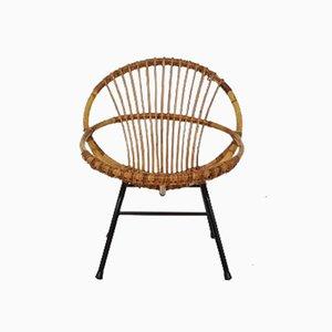 Sessel aus Bambus von Rohé Noordwolde, 1950er