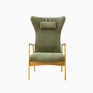 Mid-Century Danish Wingback Chair, 1960s