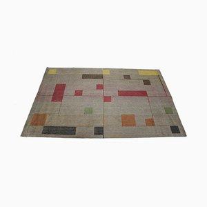 Teppich im Bauhaus Stil, 1940er