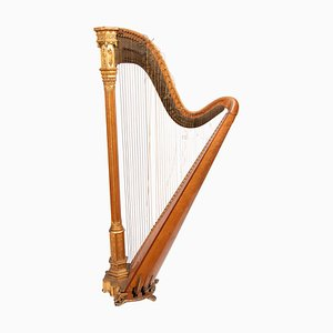 Antique Harp by Sebastian Erard for Sebastian Erard