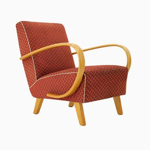 Vintage Armchair by Jindřich Halabala, 1960s