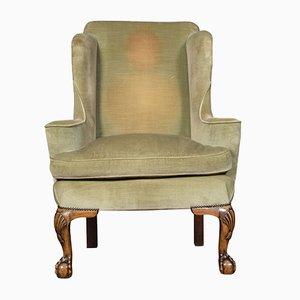 Antique Georgian Wingback Armchair