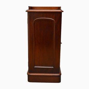 Antiker viktorianischer Nachttisch aus Mahagoni