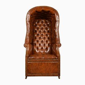 Antiker Flur Porter Stuhl im Regency-Stil