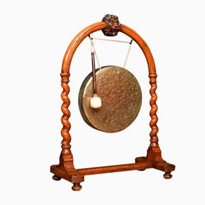 19th Century Walnut Dinner Gong