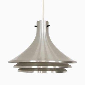 Lámpara colgante de aluminio de Hans-Agne Jakobsson para Svera, años 60