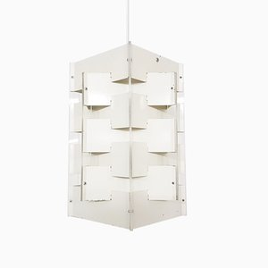 Lámpara colgante geométrica de Anvia, años 60